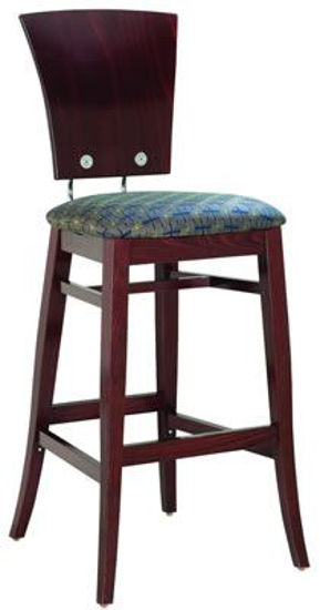Picture of MJ-351M Mingja Classic 3 Barstool Chair