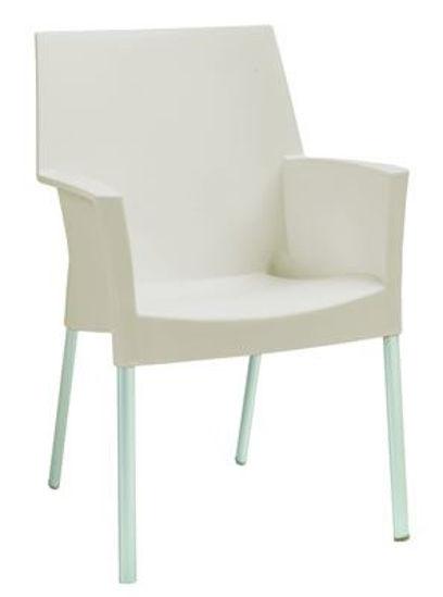 Picture of MJ-513C Mingja Plastic Arm Chair