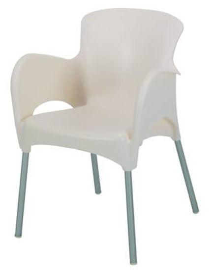Picture of MJ-514C Mingja Plastic Arm Chair