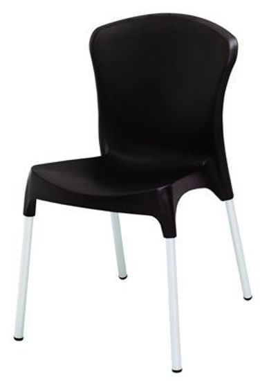 Picture of MJ-519W Mingja Plastic Side Chair