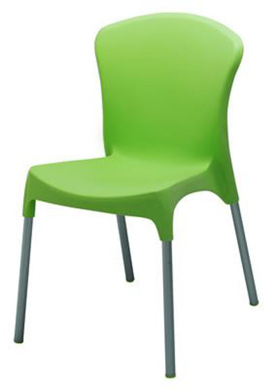 Picture of MJ-519G Mingja Plastic Side Chair