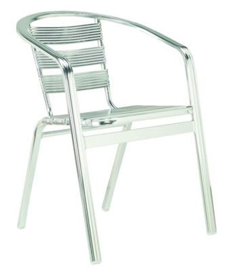 Picture of MJ-571 Mingja Aluminum Arm Chair