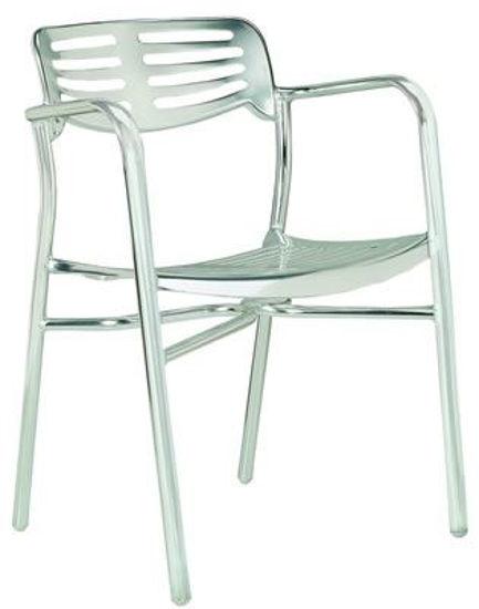 Picture of MJ-599 Mingja Aluminum Arm Chair
