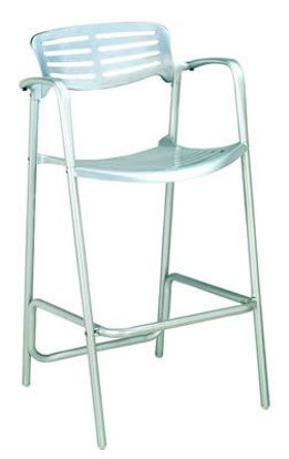Picture of MJ-790S Mingja Aluminum Barstool Chair