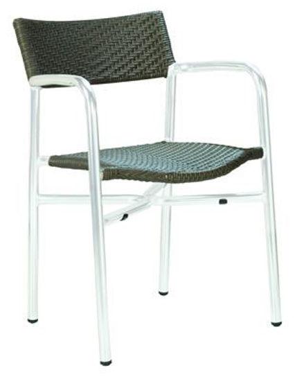 Picture of MJ-591S Mingja Aluminum Arm Chair