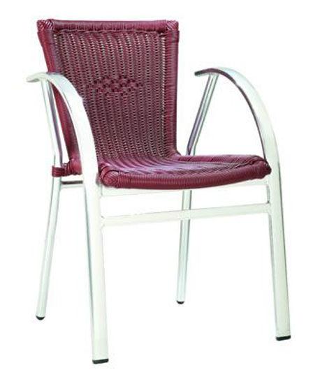 Picture of MJ-575R Mingja Aluminum Arm Chair