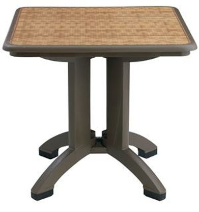 "Picture of HAVANA 32"" Square Folding Table"