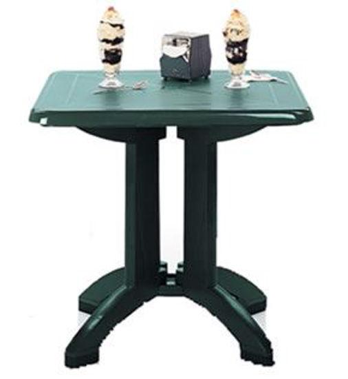 """Picture of VEGA 32"""" Square Folding Table"""