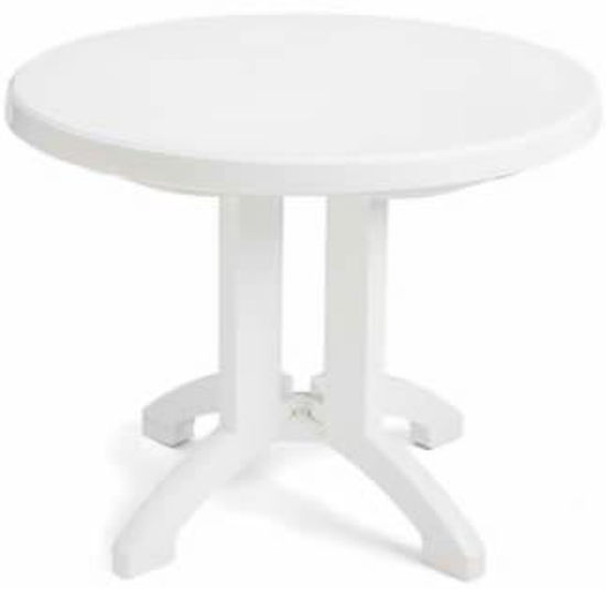"Picture of VEGA 38"" Round Folding Table"