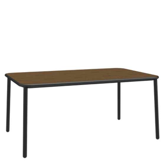 "Picture of EMU YARD ASH TOP 38""x63"" DINING TABLE"