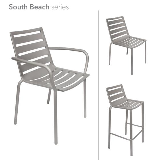 Picture of BFM-DV350TS DV450TS-DV550TS-South Beach-Dining- Chair-Barstool
