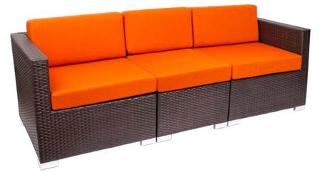 Picture for category BFM Synthetic Outdoor Wicker Sofa