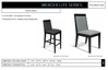 Picture of GAR FURNITURE MERCER LITE SERIES BAR CHAIR