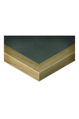 Picture of GAR FURNITURE 1/4 EDGE VENEER DROP EDGE TABLE TOP
