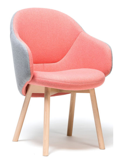 Picture of ALBA ARMCHAIR BY TON
